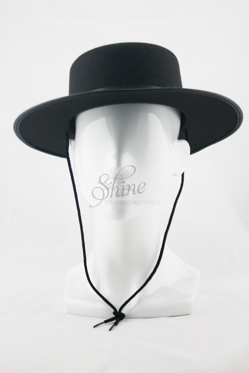 c52c30b0c59 Permafelt Black Spanish Hat
