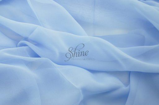 Chiffon Bonnie Blue