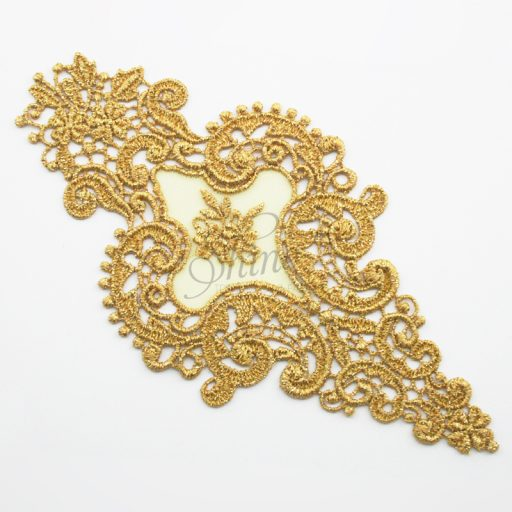 Victorian Dreams Metallic Gold Lace Motifs
