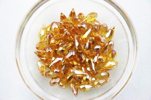 Light Colorado Glass Drop Bead
