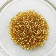 10 Light Gold Seedbead