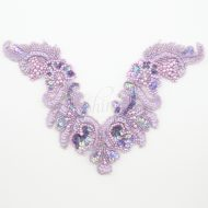 Sequin and Beaded Chest Motif