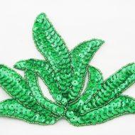 Leaf Sequin Motif