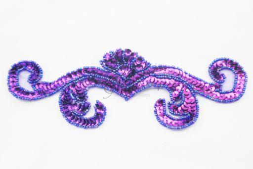 Sequin Swirl Motif
