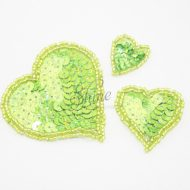 Heart Sequin Motif