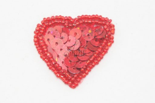 Heart Sequin Motif