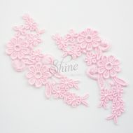 Field of Daisys Ballet Pink Lace Motif Pair