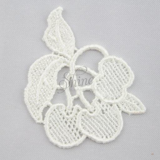 Cherry's Guipure Lace Motif Ivory