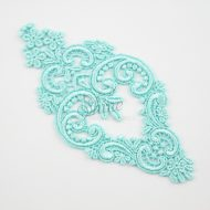 Decadent Chandelier Holiday Lace Motif