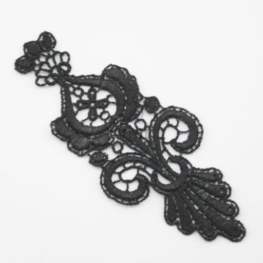 Parisian Nights Black Lace Motif
