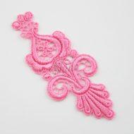 Parisian Nights Sacket Pink Lace Motif