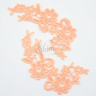 Field of Daisys Flower Lace Motif Pair