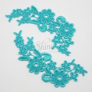Field of Daisys Lagoon Lace Motif Pair