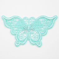 Butterfly Holiday Lace Motif