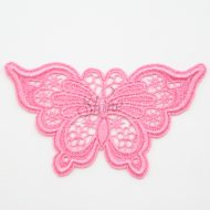 Butterfly Sacket Pink Lace Motif