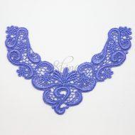 Precious Dreamers Iris Blue Lace Motif