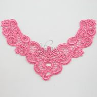 Precious Dreamers Sacket Pink Lace Motif