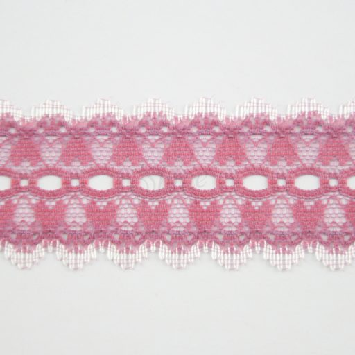 Picot Eyelet Heart Nylon Lace Trimming