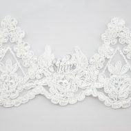 Beaded Lace Scalloped Edging