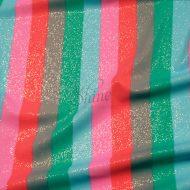 Fruit Tingle Stripe Print Stretch Spandex 18mm