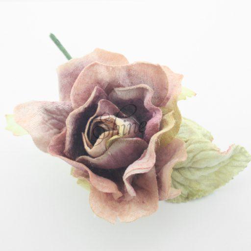 Large Velvet Rose Mauve