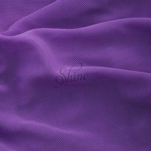 Stretch Mesh Purple