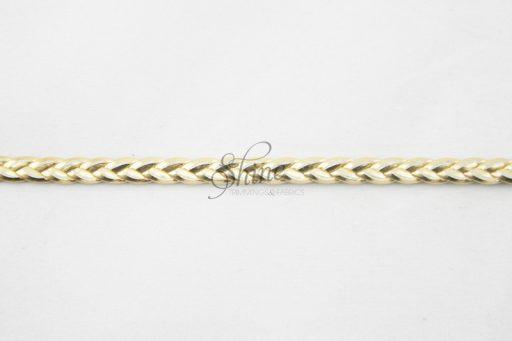 6mm Leather Plait Trimming