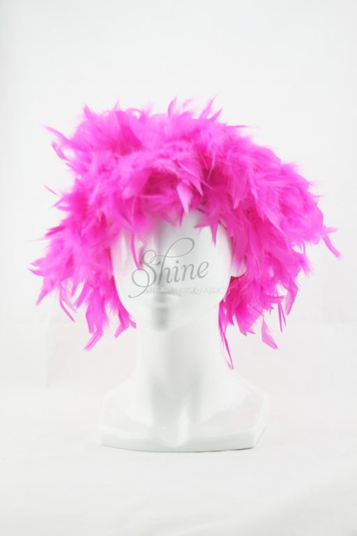 Feather Wig Pink
