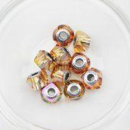 Swarovski BeCharmed Helix Bead Crystal Astral Pink 001 API