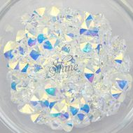 Swarovski Xilion Heart Pendant Crystal AB 001 AB