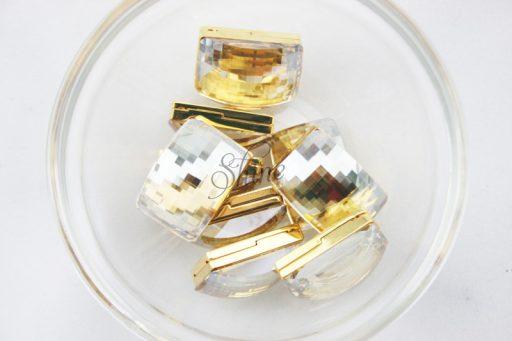 Swarovski Magnet Fasteners Crystal Golden Shadow 001 GSHA