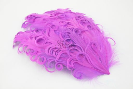 Curly Hackle Pad Fuchsia Pink