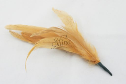 Cocktail Feather Spike Beige