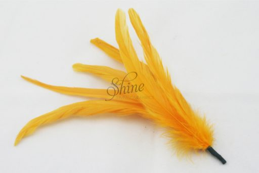 Cocktail Feather Spike Gold