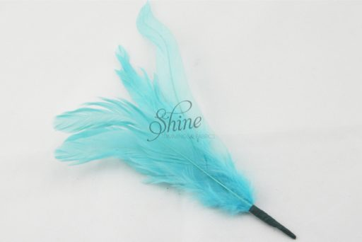 Cocktail Feather Spike Turquoise