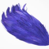 Large Hackle Pad Electric Blue