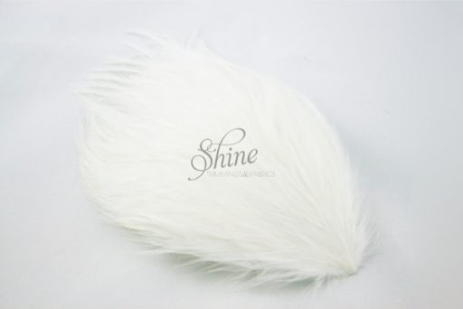 Large Hackle Pad White