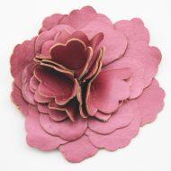 Leather Flower Rose
