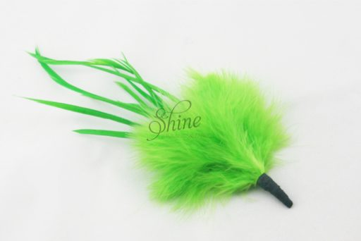 Marabou Spike Lime Green