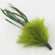 Marabou Spike Olive Green