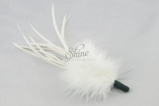 Marabou Spike White