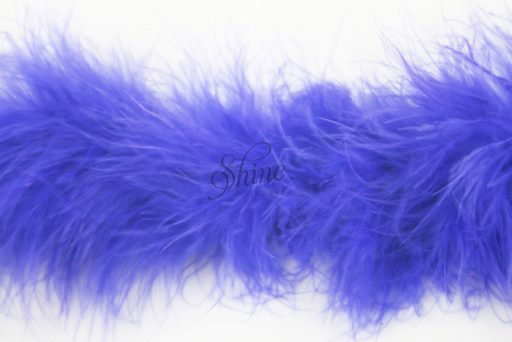 Marabou Trimming Electric Blue