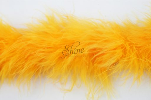 Marabou Trimming Gold