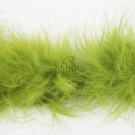 Marabou Trimming Olive Green