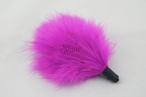 Marabou Tuft Fuchsia Pink