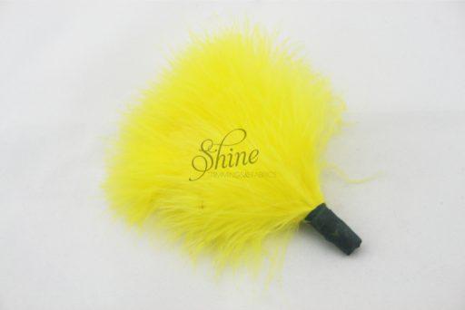 Marabou Tuft Yellow