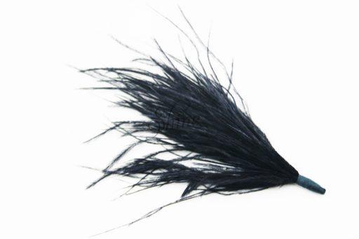 Ostrich Tuft Black