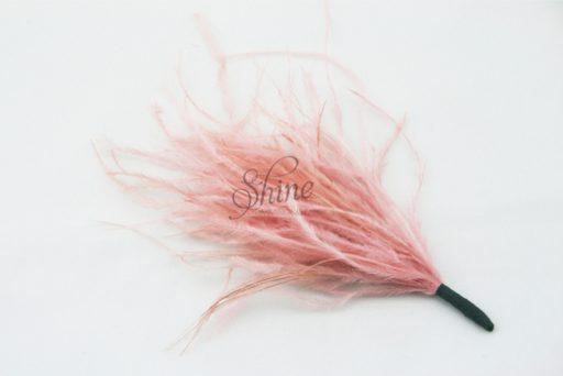 Ostrich Tuft Dusty Pink