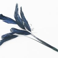 Stripped Feathers Navy