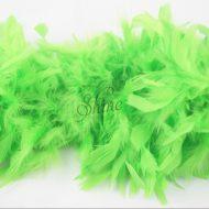 Turkey Boa Lime Green